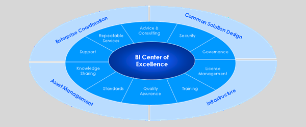 Sample BI Center of Excellence (BI COE)