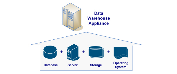 Basic Architecture of a Data Warehouse (DW) Appliance