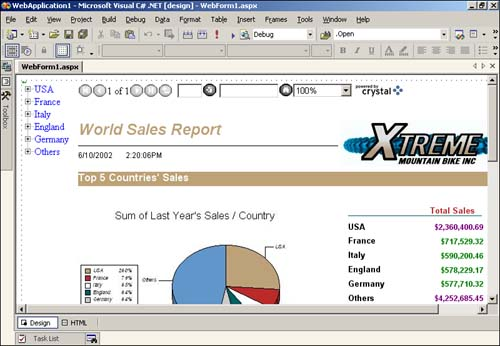 Crystal Reports - Visual C# SDK